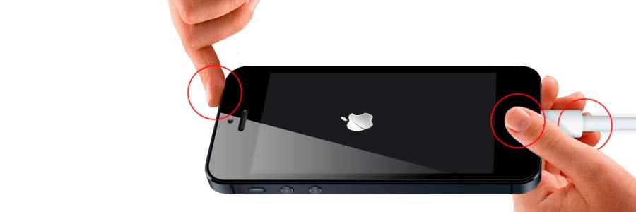 iphone 5 выключился и не включается